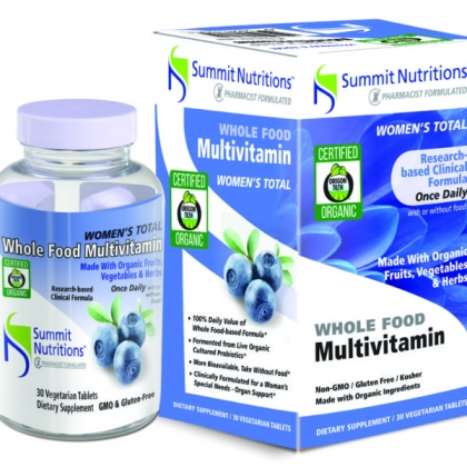 Organic Women's Total Multi-vitamins