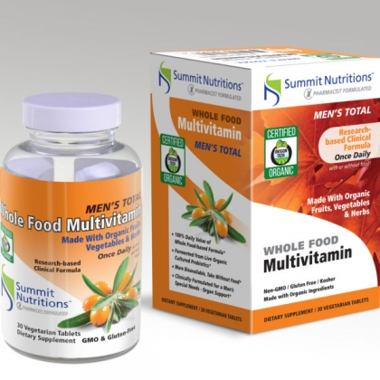 Organic Men's Total Multi-vitamins