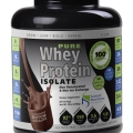 Pure Whey Protein Isolate- Chocolate 5 lb Jar